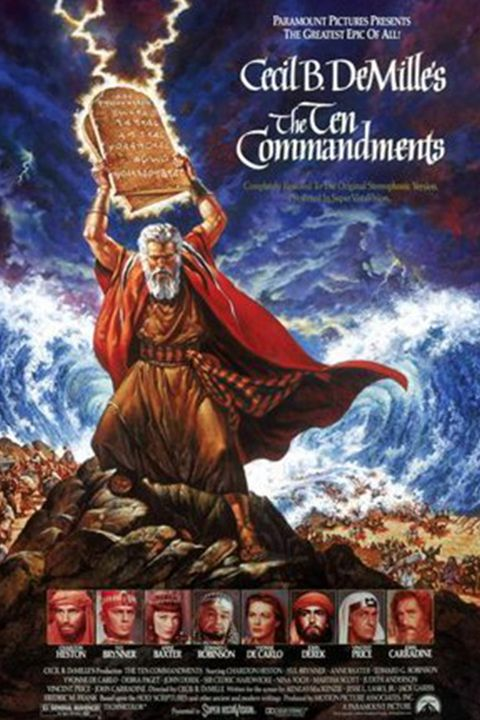 easter movies to stream the ten commandments