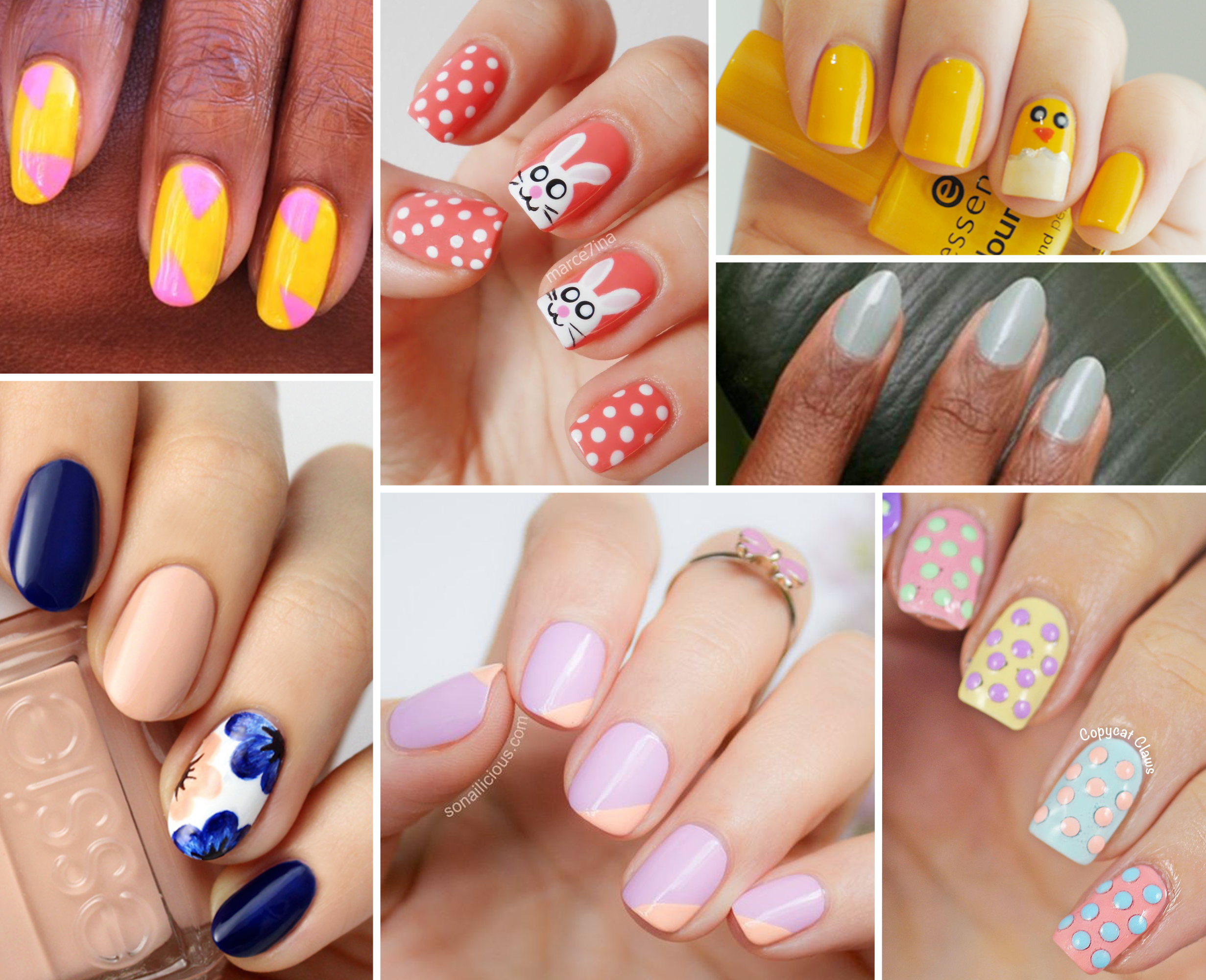 25 Easter Nail Art Ideas You Have to Try This Spring - Easy ...