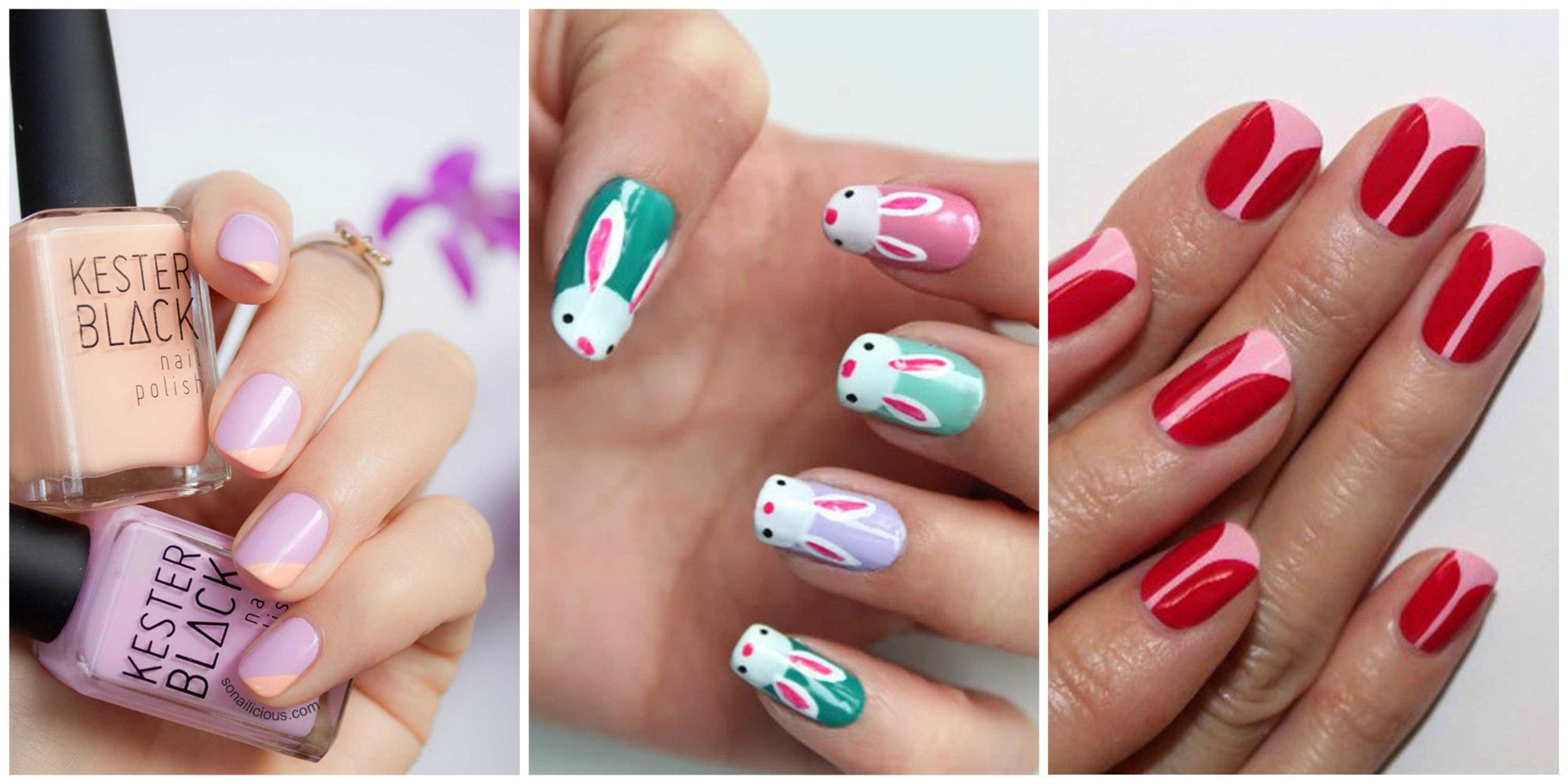 easter nail designs & 16 Cute Easter Nail Designs - Best Easter Nail Art Ideas
