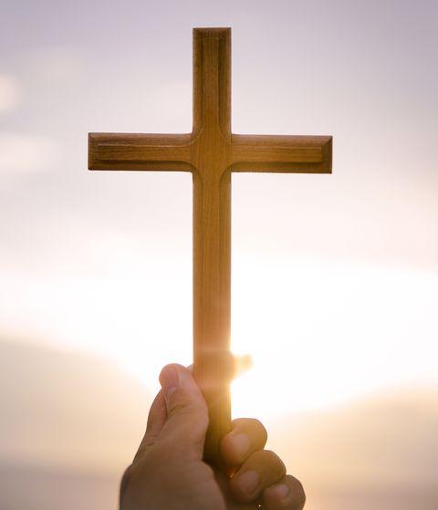 easter prayers sun cross