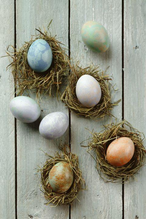 easter prayers painted eggs