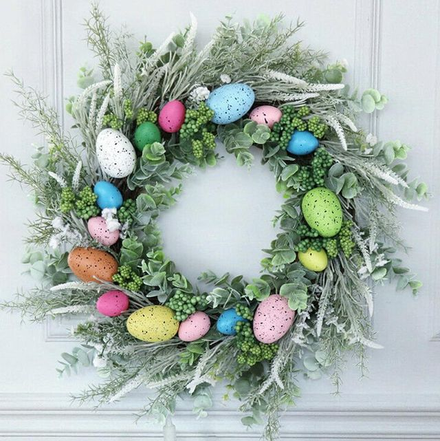 17 Best Easter Wreaths To Buy For Spring Spring Wreath
