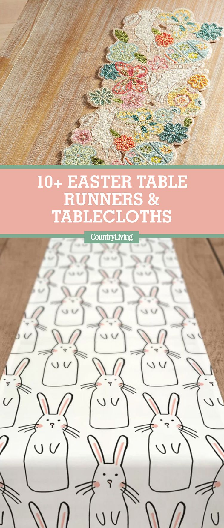 10 best easter table runner and tablecloths cute table coverings 10 best easter table runner and tablecloths cute table coverings for easter negle Image collections
