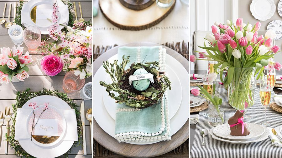 easter table decorations : easter table setting ideas - pezcame.com