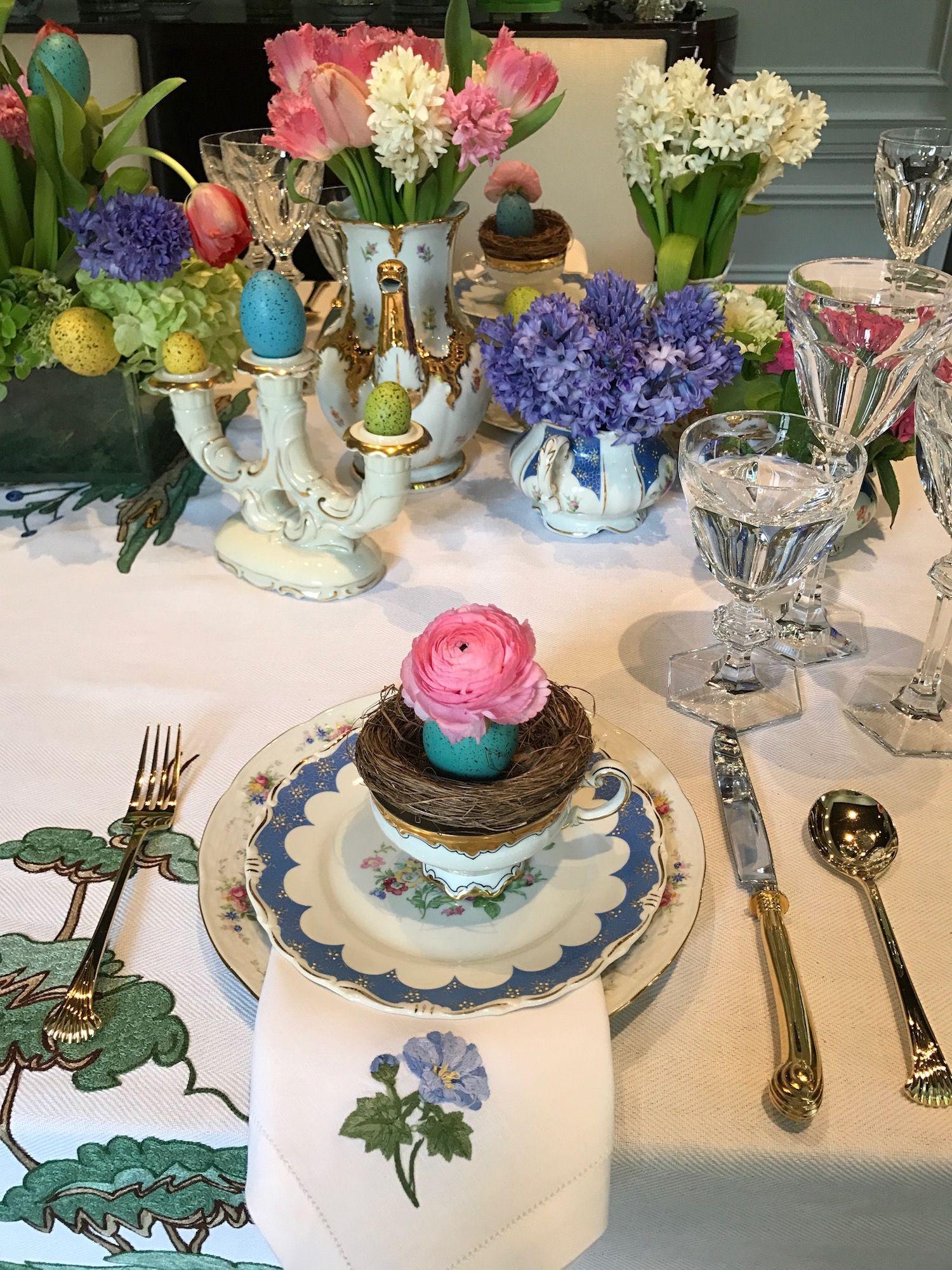 Easter Table Decorations Part - 27: Elle Decor