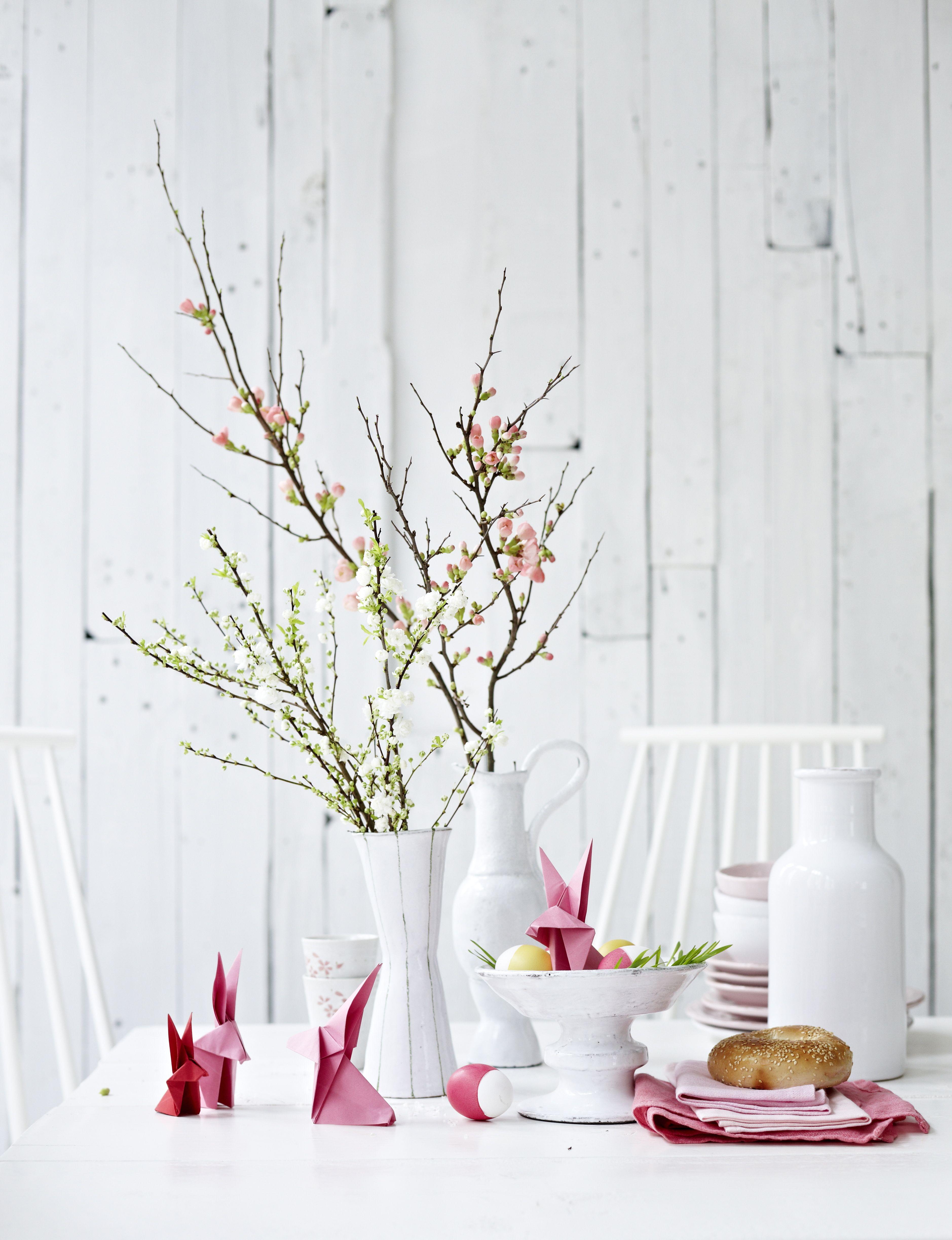 Easter Table Decorations Part - 34: Elle Decor