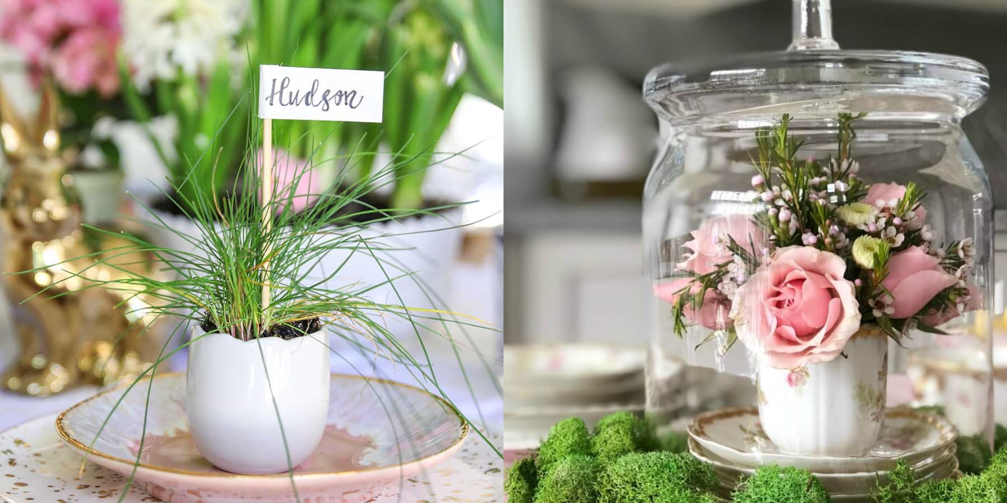 54 One-of-a-Kind Easter Table Decorations and Centerpieces