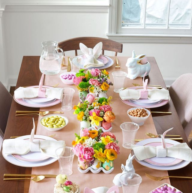 DIY Easter Table Decorations - Table Decor Ideas for Easter Brunch