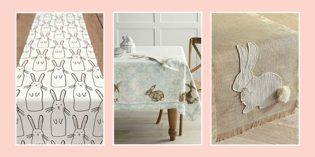 10 Best Easter Table Runner And Tablecloths Cute Table Coverings For Easter