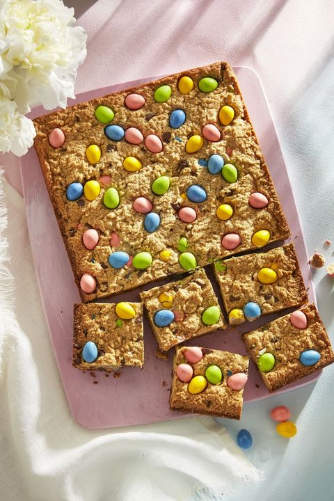 easter treats peanut butter egg blondies
