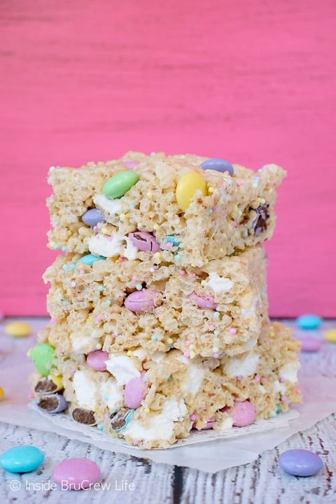 easter treats rice krispies