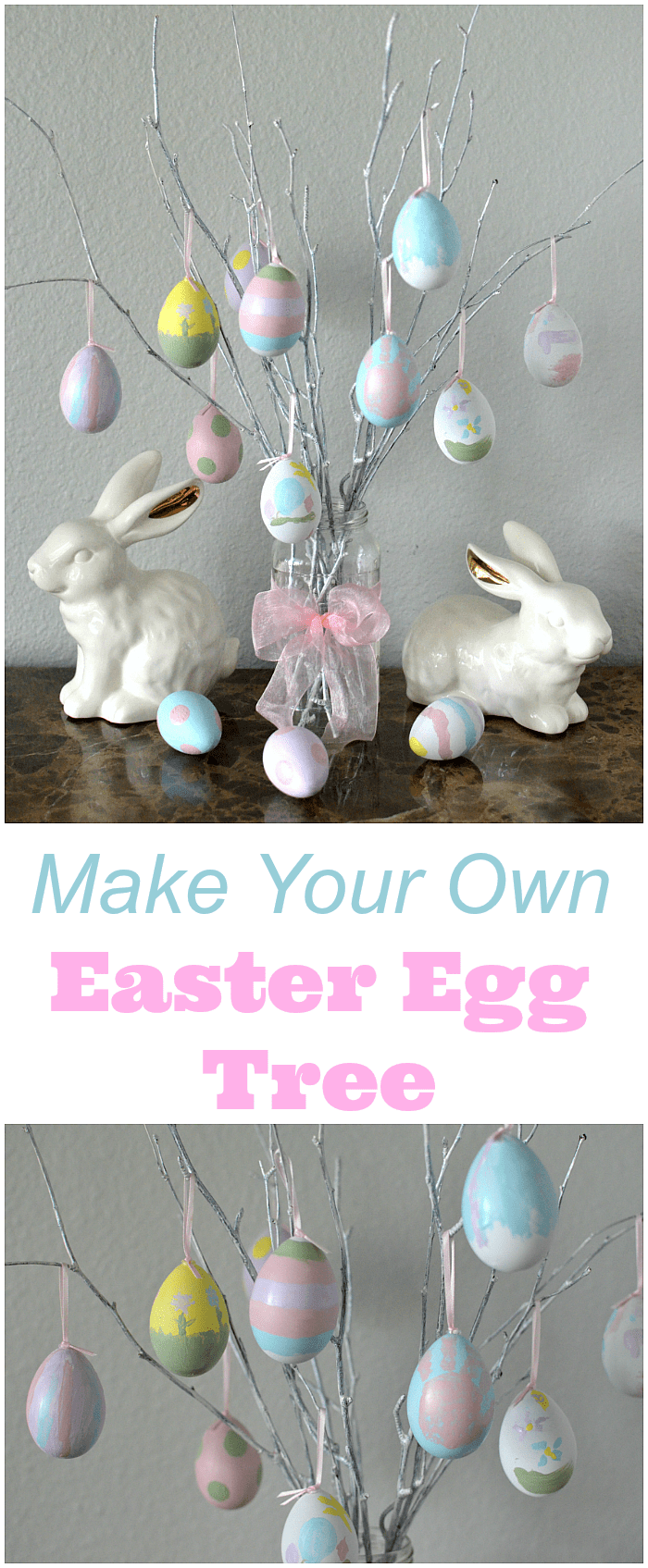 12 Diy Easter Tree Ideas How To Make Your Own Easter Egg Tree