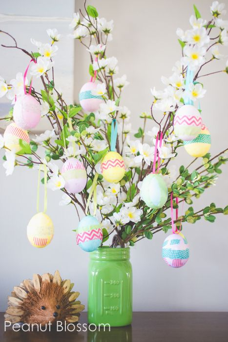 easter tree idea - Kids Easter Egg Tree