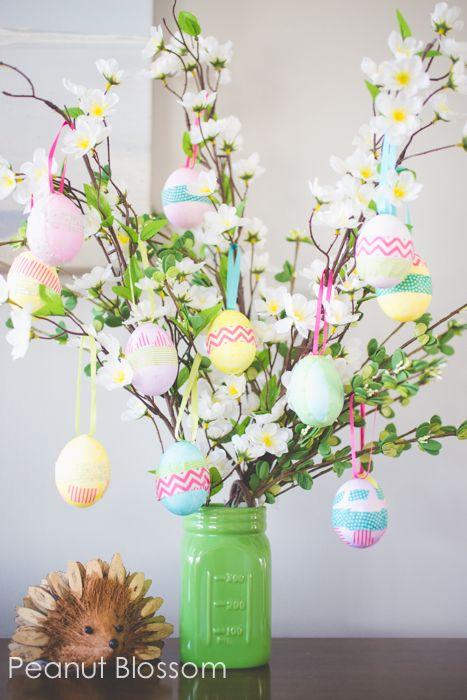 easter tree idea -Kids Easter Egg Tree