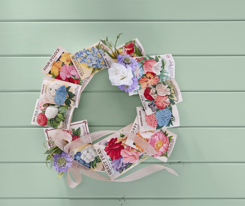 32 Diy Easter Wreath Ideas How To Make A Cute Easter Door Wreath