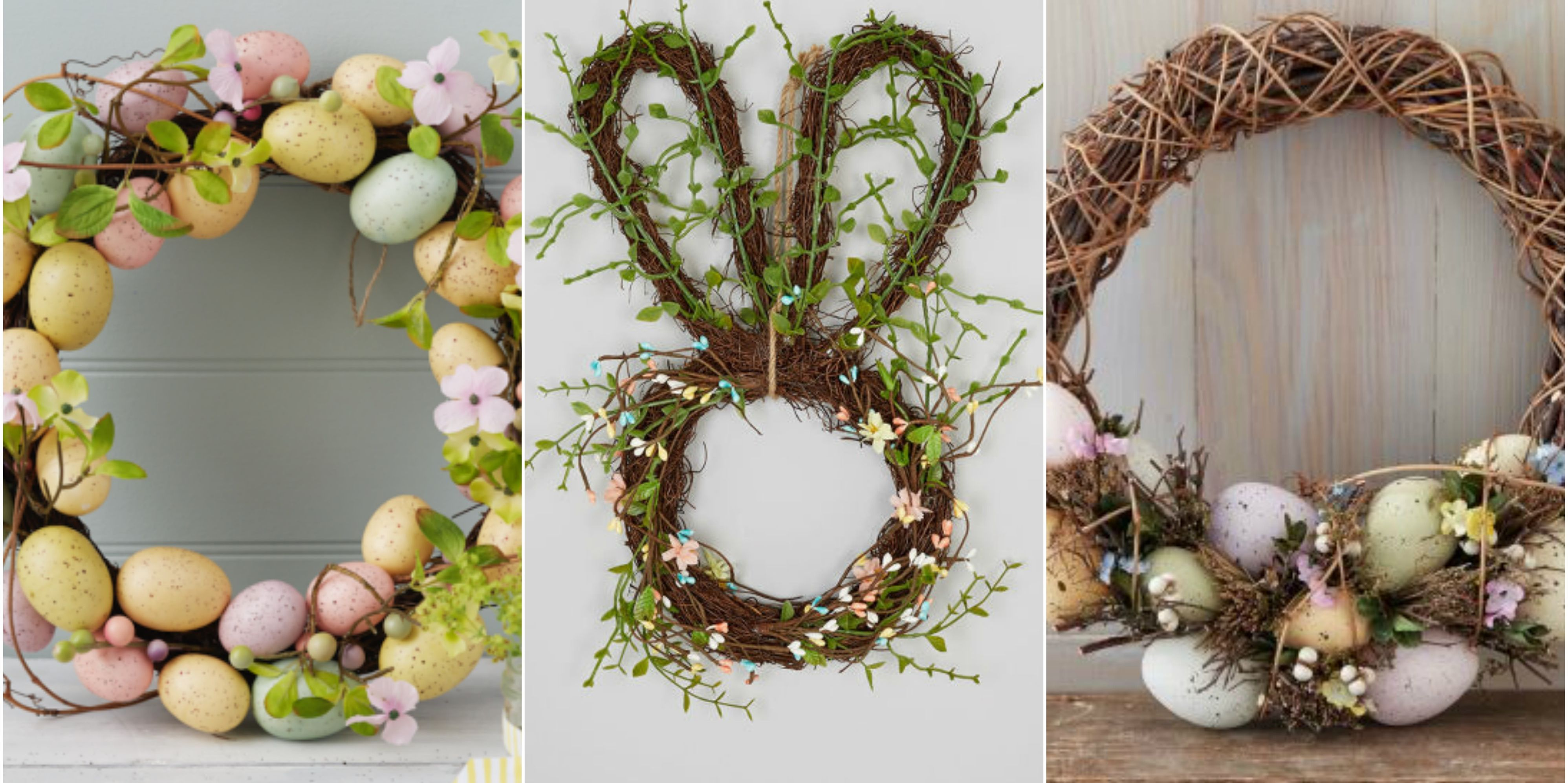 Decorative Easter wreaths