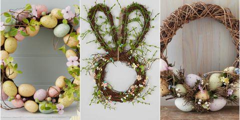 Decorative Easter Wreaths Notonthehighstreet Matalan