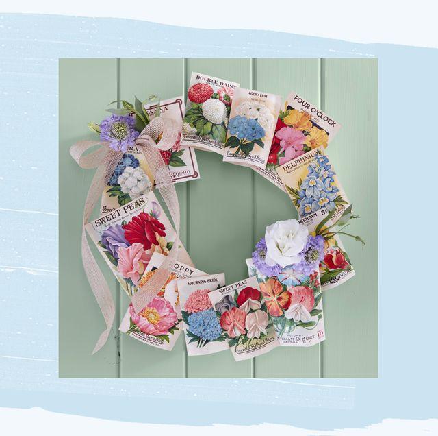 22 Diy Easter Wreath Ideas How To Make A Cute Easter Door Wreath