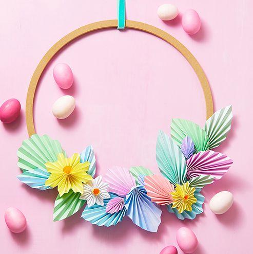 23 Cute Easter Wreaths Diy Easter Door Decoration Ideas