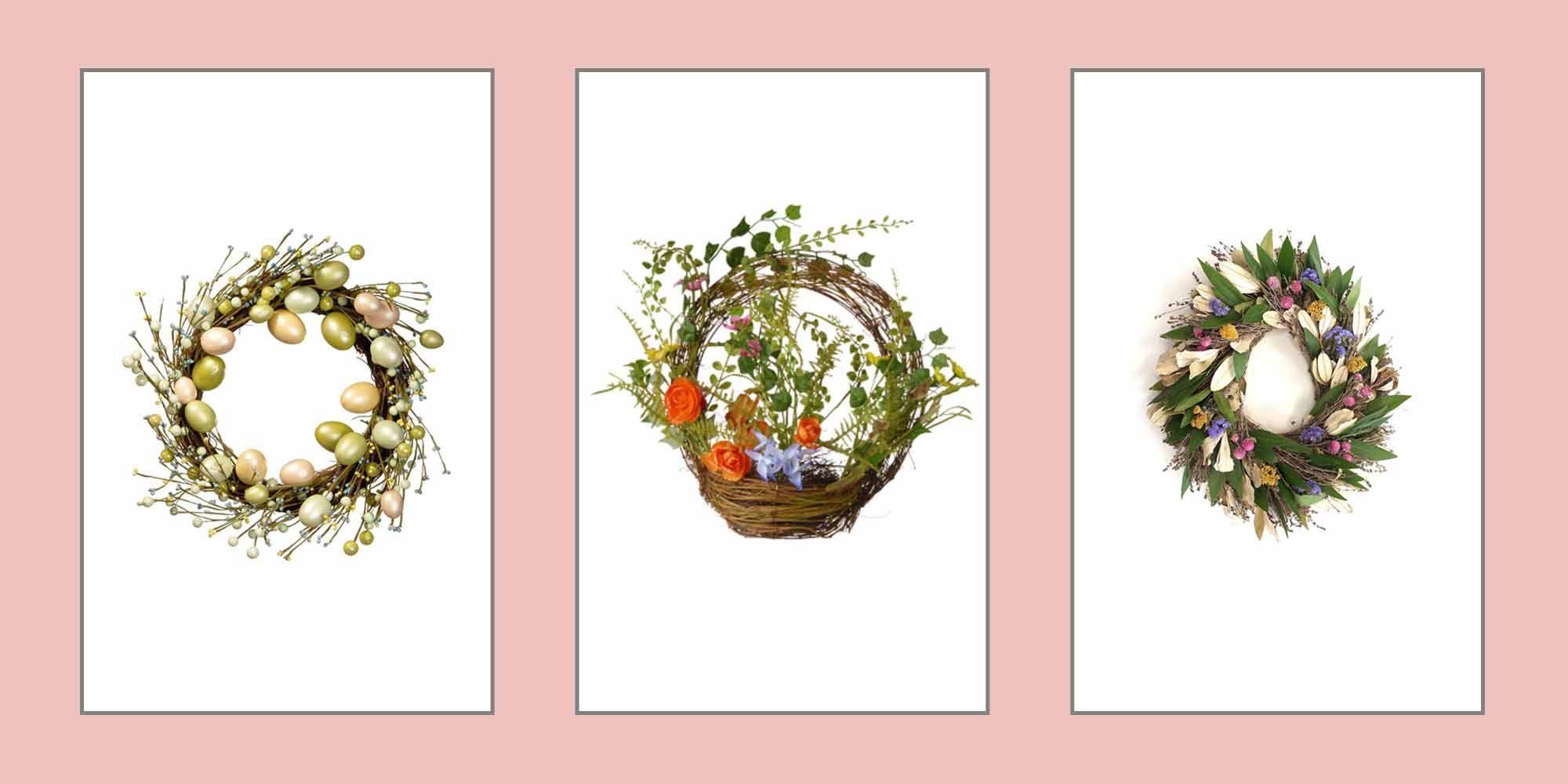 20 Elegant Easter Wreaths Easter Decor Ideas