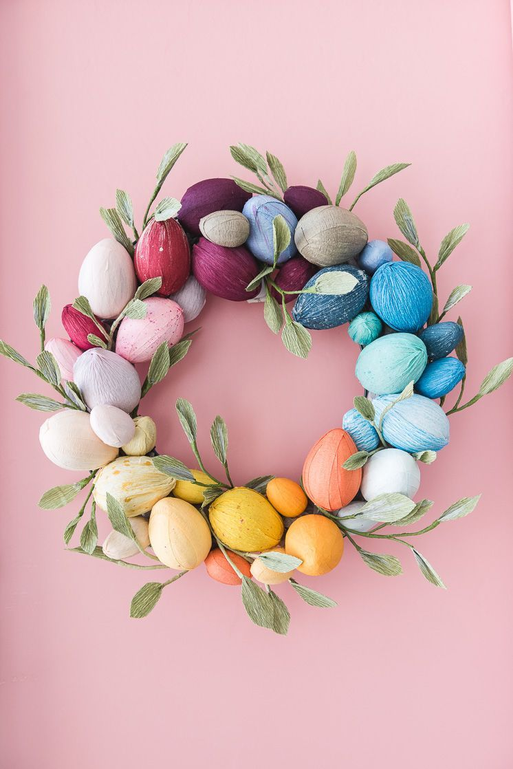 20 Cute Easter Wreaths Diy Easter Door Decoration Ideas