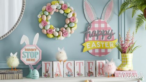 easter zoom backgrounds decorations