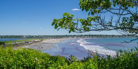 Easton's Beach, Rhode Island