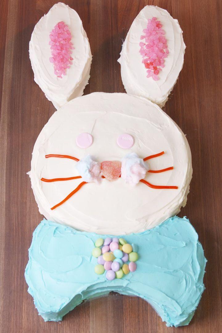 Bunny Cake - Easter Bunny Cake