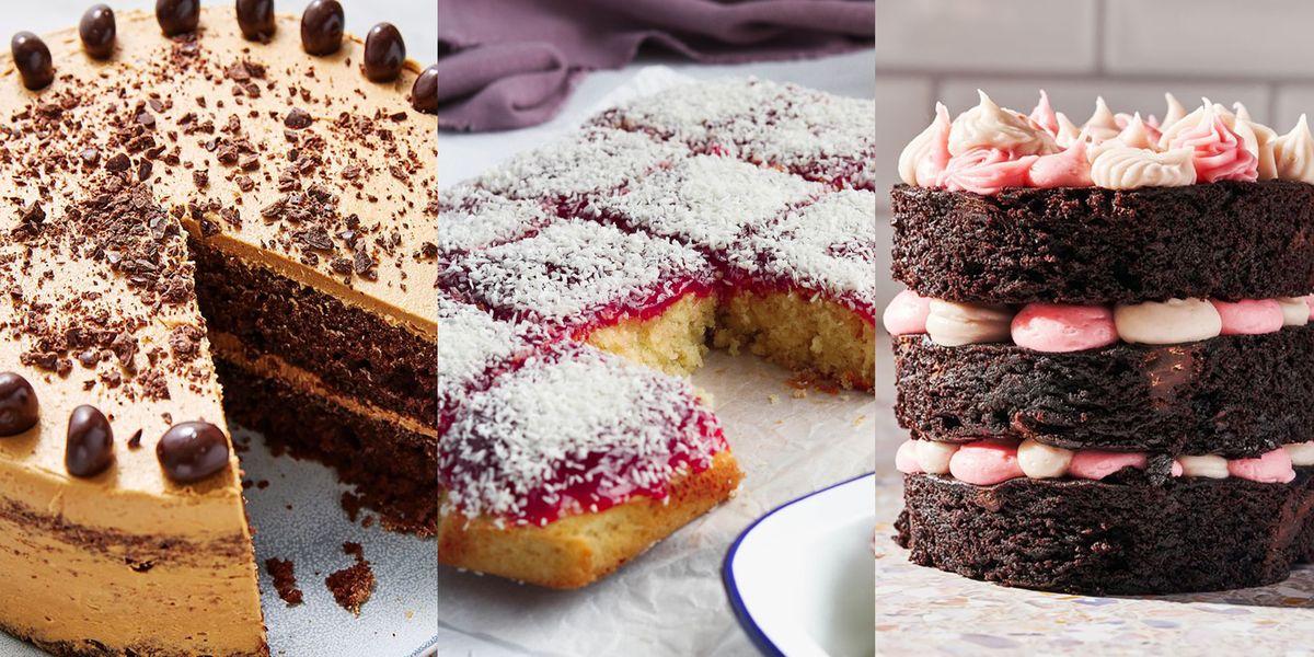 Easy Cake Recipes From Six-Ingredient Lemon Drizzle To Nostalgic Jam & Coconut Sponge