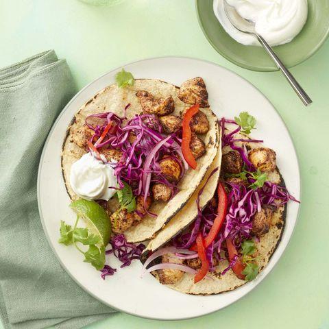 easy chicken dinner recipes - Chicken Mole Tacos