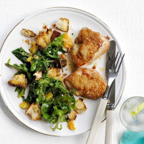 easy chicken dinner recipes - Roasted Chicken Citrus Salad