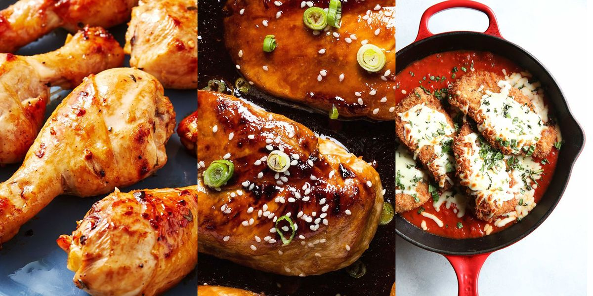 Easy Chicken Recipes That'll Make You Excited For Dinner Every Night Of The Week