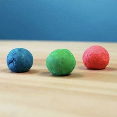 easy crafts for kids bouncy ball