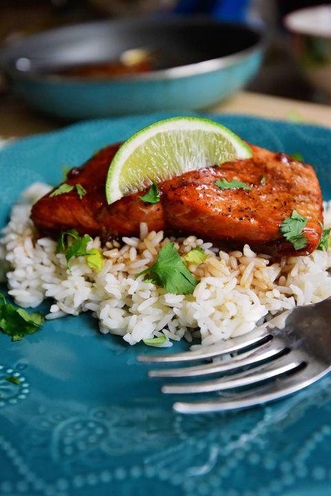 easy dinner ideas honey salmon