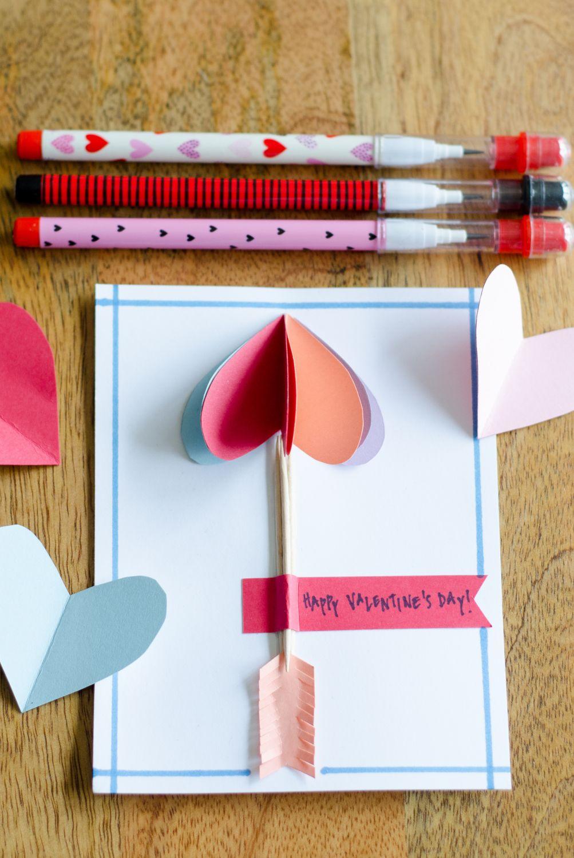 Valentine's Day DIY Cards Crafts Heart