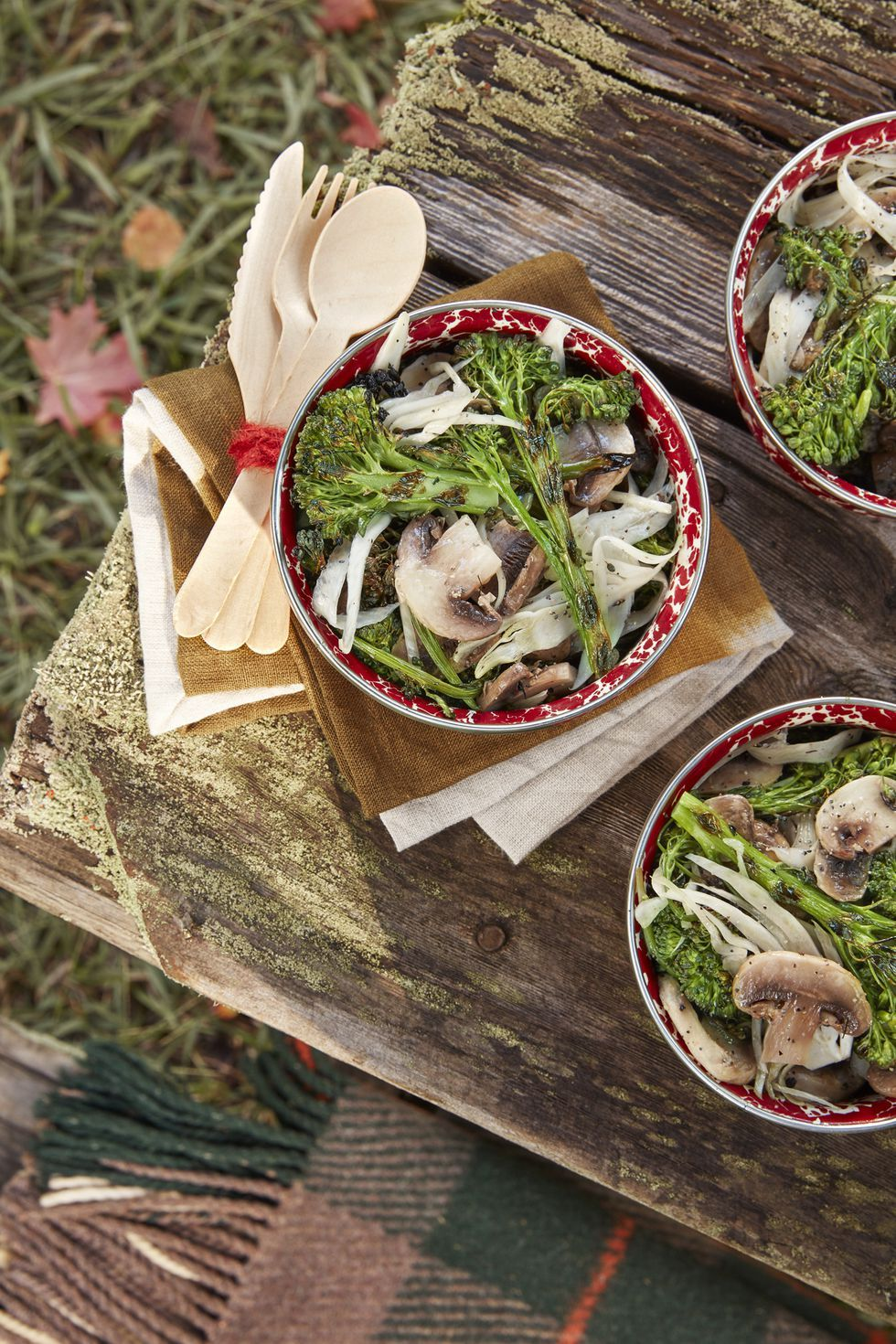 easy fall recipes salad mushroom
