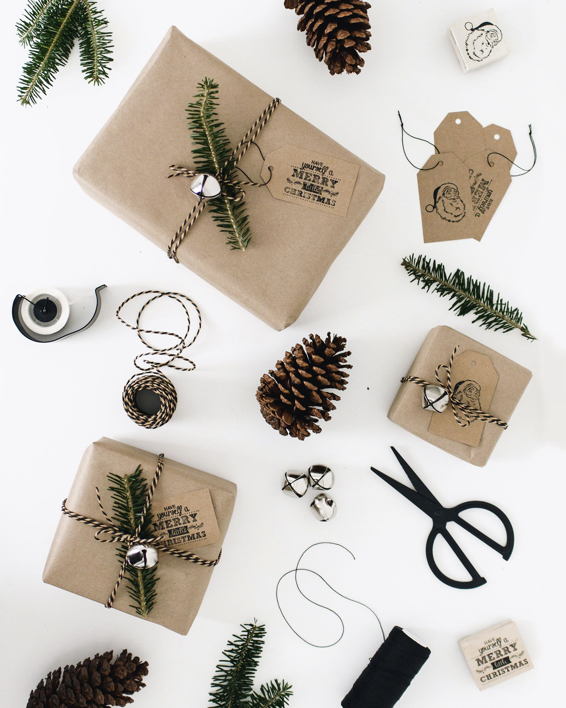 easy gift wrap idea & 39 Unique Gift Wrapping Ideas for Christmas - How to Wrap Holiday ...