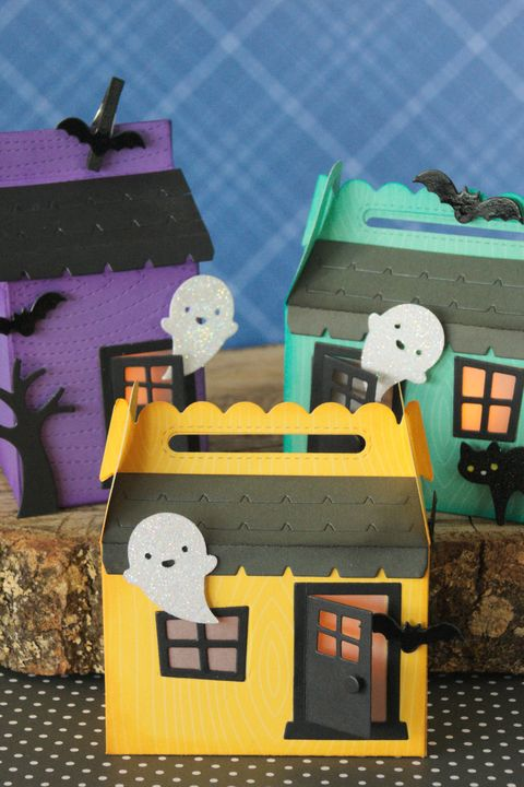 halloween crafts for kids diy haunted house