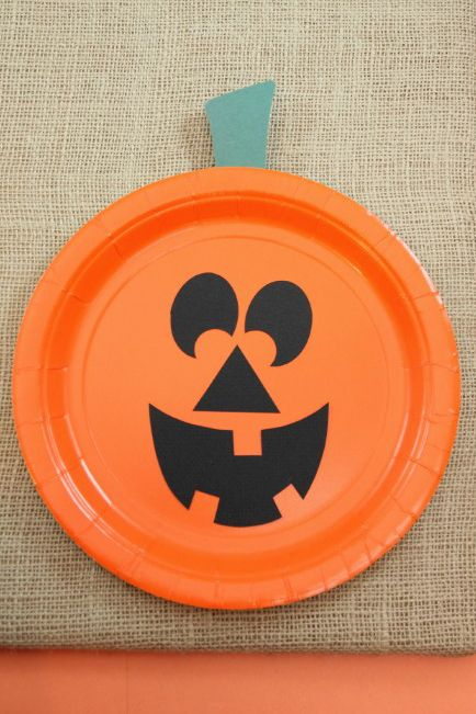 easy halloween crafts for kids paper plate pumpkins