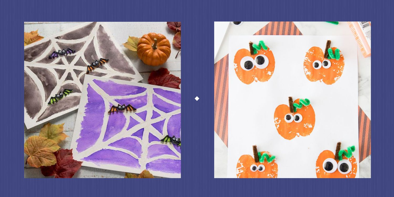 40 Halloween Crafts for Kids That Are as Cute as They Are Simple
