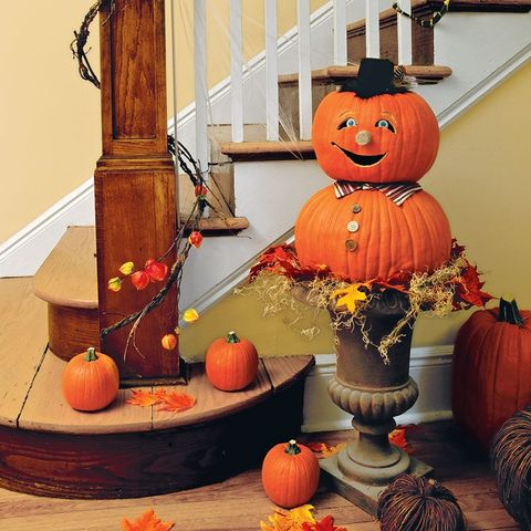 easy halloween decorations urn est pumpkin