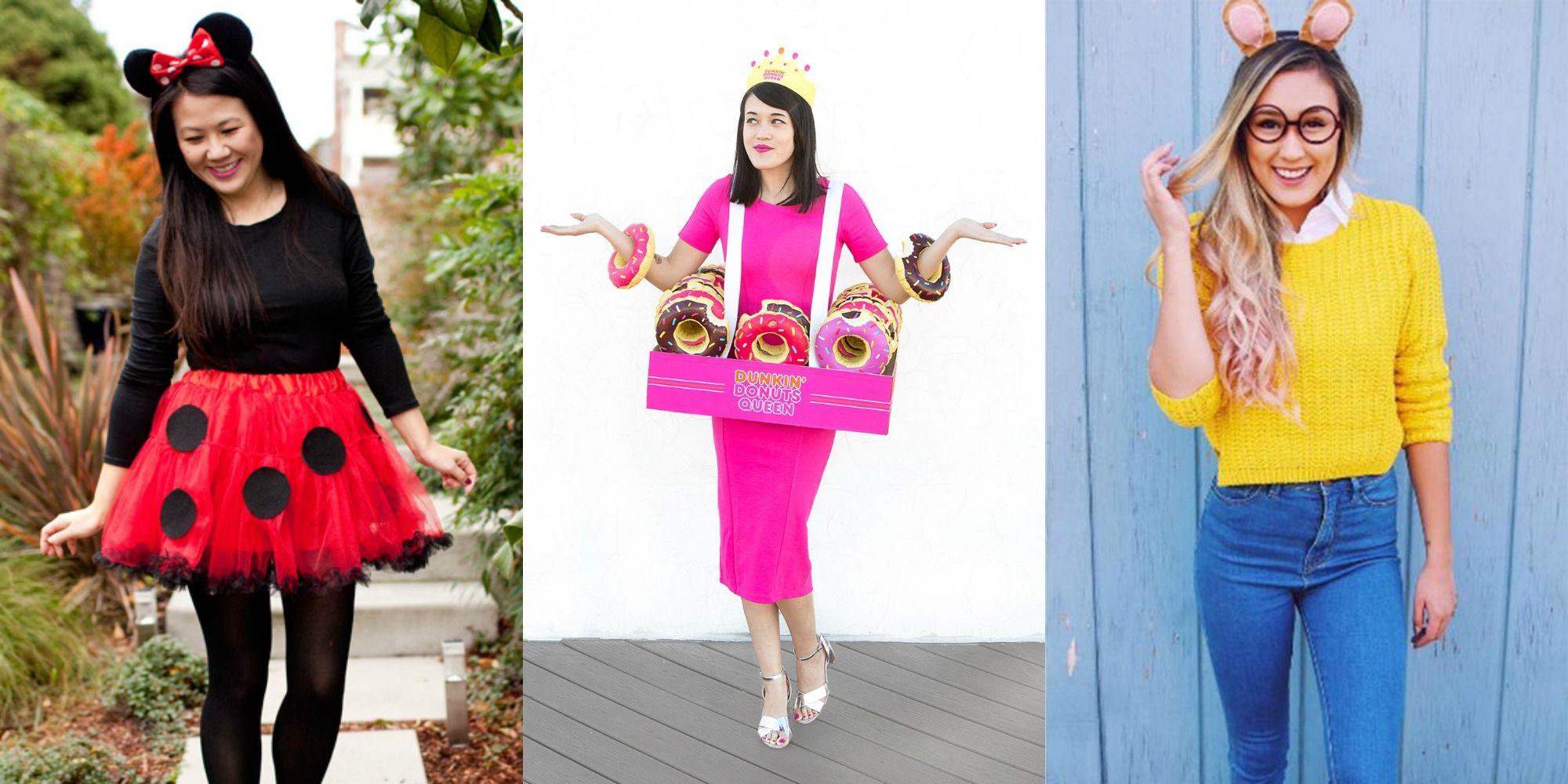 50 easy last minute halloween costume ideas diy halloween costumes rh goodhousekeeping com halloween homemade costume ideas 2017 halloween homemade costume ideas
