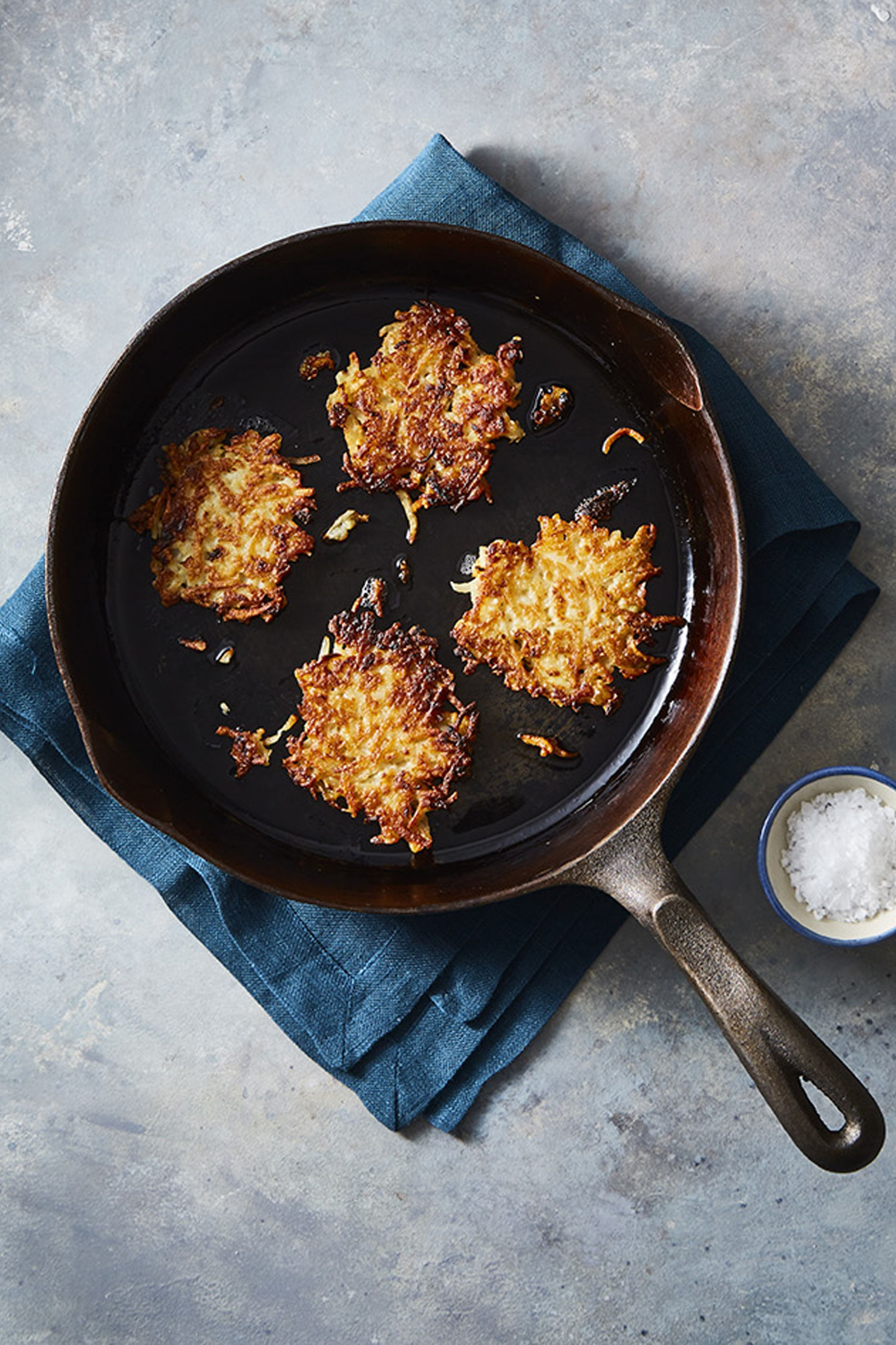 easy potato pancakes - latke recipes