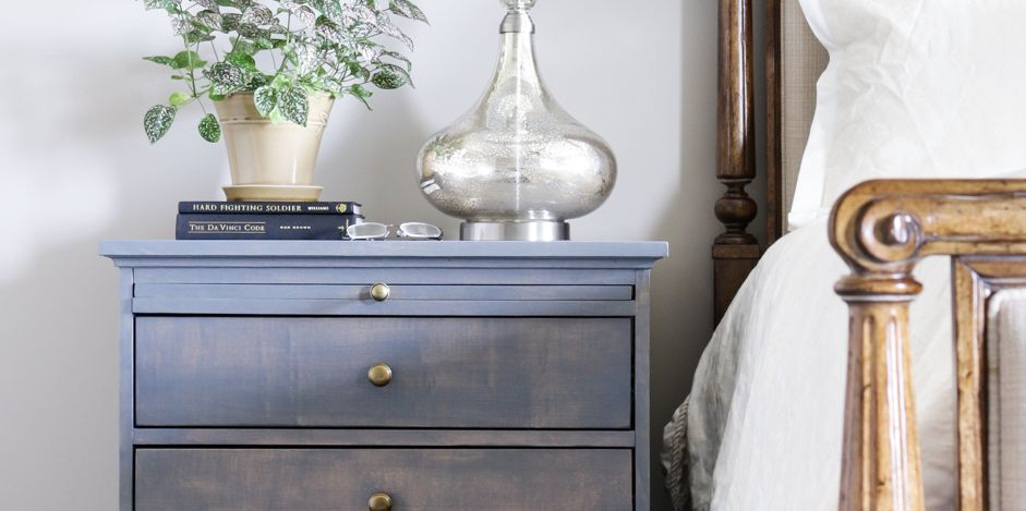 15 Easy Nightstand Ideas Diy Night Stand Plans And