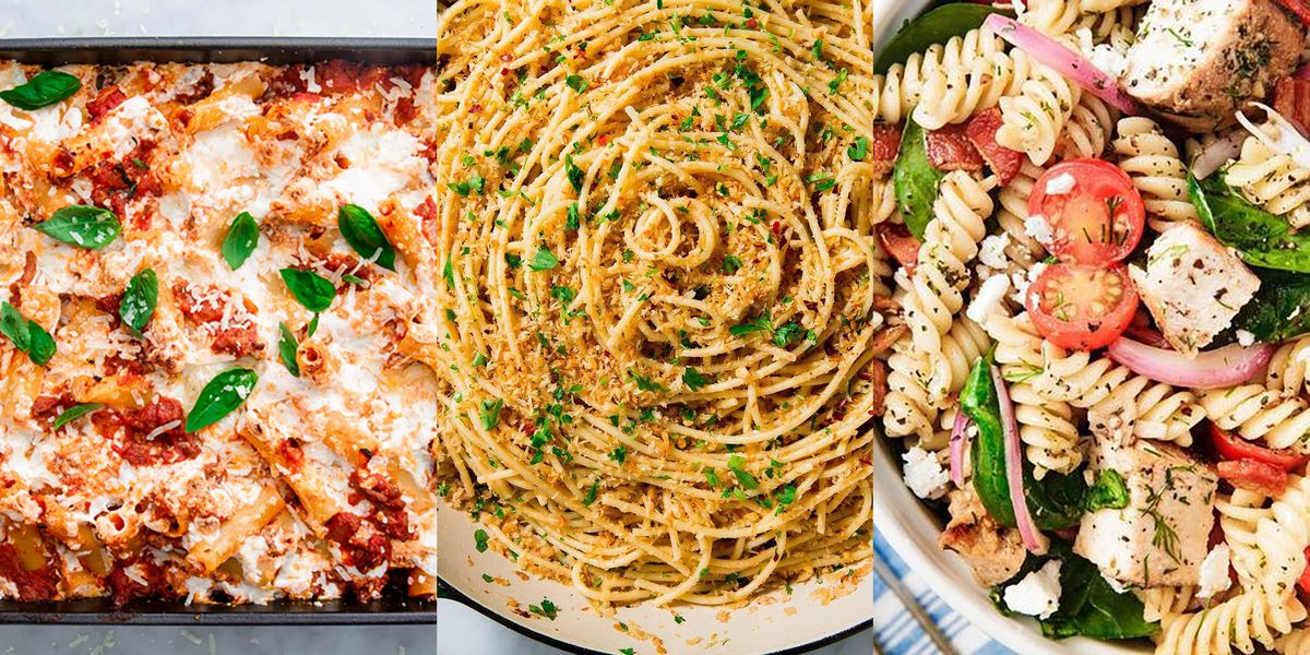 Super Easy Pasta Recipes That Will Make Planning Weeknight Dinners SO Simple
