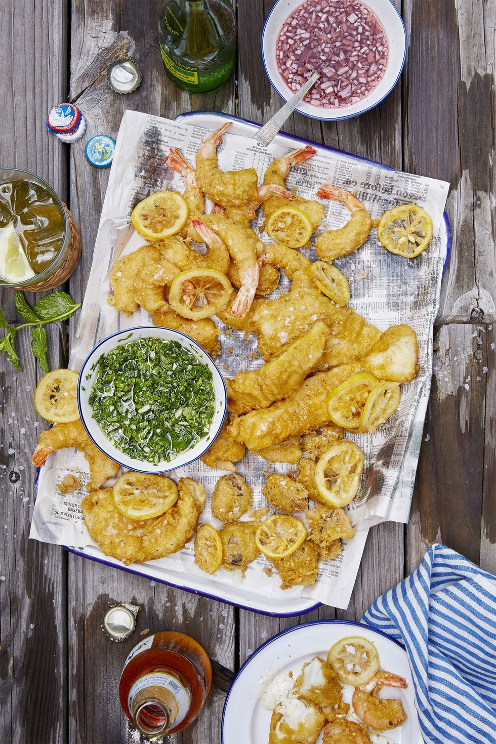 easy pescatarian recipes battered seafood