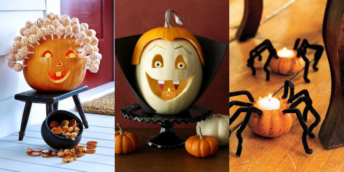 25 Easy Pumpkin Carving Ideas For Halloween 2019 Cool