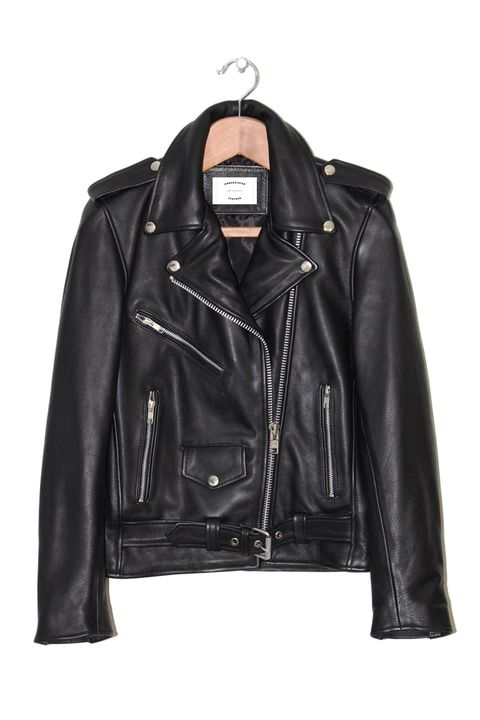 Jacket, Clothing, Leather, Leather jacket, Outerwear, Black, Sleeve, Product, Textile, Fashion,