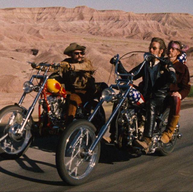 Un fotograma de 'Easy Rider'