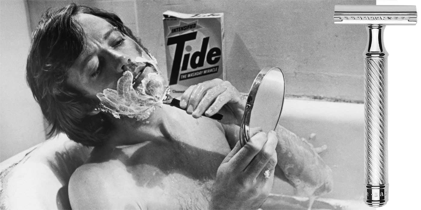 How to Give Yourself an Old-School Shave at Home